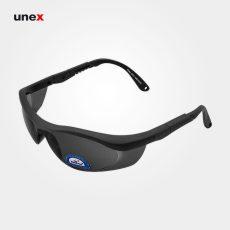 عینک ایمنی UD191، ولتکس – VAULTEX، عینک فریم دار، لنز مشکی و سفید، ایرانی