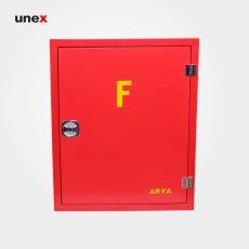 جعبه آتش نشانی ۶۰*۷۵ سانتی متر، آریا ، جعبه، قرمز، ایرانی