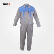 لباس کار یونکس آلفا استخوانی آبی آسمانی