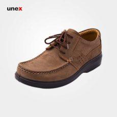 کفش پرسنلی نبوک پاتریس، کفش شهپر، کفش اداری، قهوه ای، سایز ۴۰ تا ۴۵، ایرانی