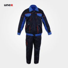 لباس کار یونکس طرح بوفالو سرمه ای آبی
