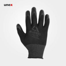 دستکش ضد برش البرز، دستکش ضد برش، مشکی – طوسی، فری سایز، ایرانی