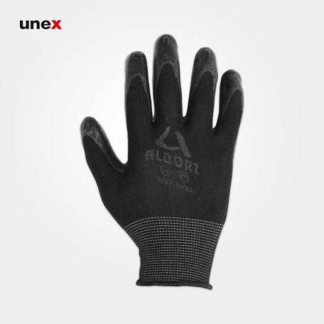 دستکش ضد برش البرز، دستکش ضد برش، مشکی - طوسی، فری سایز، ایرانی