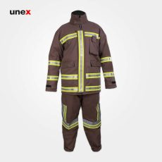 لباس عملیاتی آتش نشانی خاکی