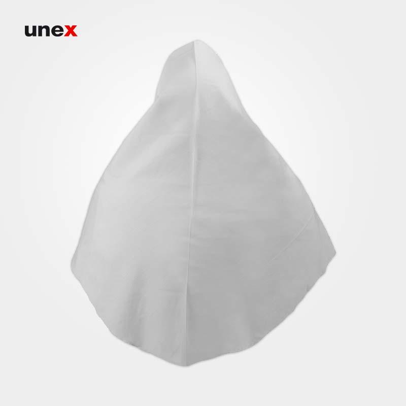مقنعه تترون زنانه درجه یک، ابزار ایمنی شهپر ، لباس کار صنعتی ، استخوانی، ایرانی