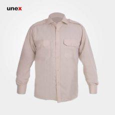 پیراهن نگهبانی تترون، ابزار ایمنی شهپر، لباس کار صنعتی، کرم، ایرانی