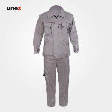 لباس کار یونکس مهندسی جلیقه دار استخوانی