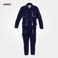 لباس کار یونکس مهندسی ست ورک سرمه ای استخوانی