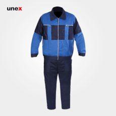 لباس کار یونکس سیلوری، سرمه ای آبی