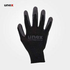 دستکش ضد برش یونکس طوسی مشکی