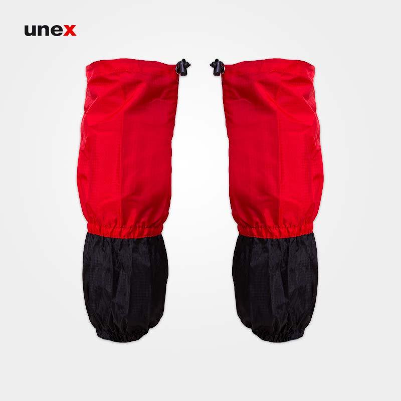 گتر کوهنوردی، جانگل کینگ-JUNGLE KING، قرمز-مشکی، فری سایز، چینی