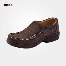 کفش پرسنلی شهپر هلال قهوه ای