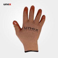 دستکش ضد برش یونکس ۱۲۴ قهوه ای