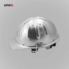 کلاه ایمنی آلومینیومی نقره ای