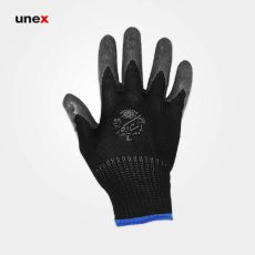 دستکش ضد برش استادکار مشکی طوسی