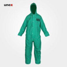 لباس یکسره ضد اسید ماگما سبز