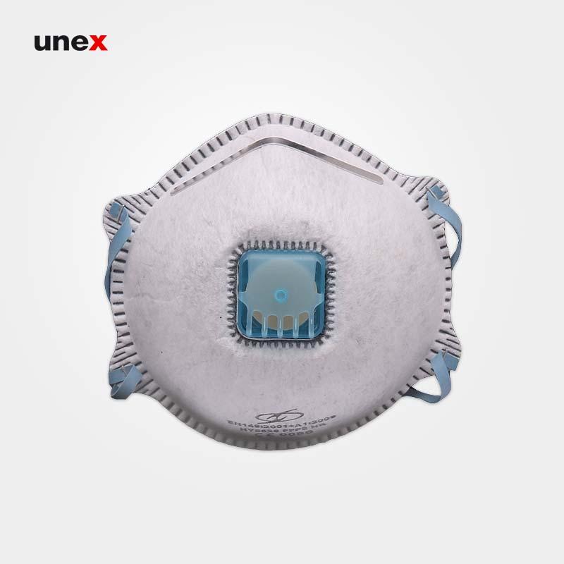 ماسک سوپاپ دار نانو ماسک مدل FFP2-HY8626 سفید
