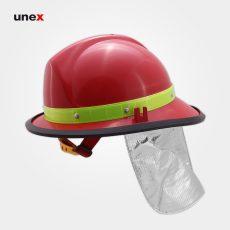 کلاه ایمنی آتش نشانی پشتی نسوز