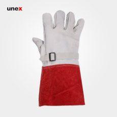 دستکش محافظ دستکش عایق برق سفید قرمز