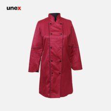 لباس رستورانی زنانه سرآشپزی رنگبندی
